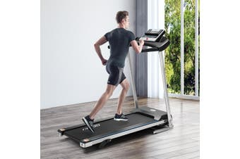 Genki 1.85HP Electric Treadmill with 12 Training Programs and Heart Rate Sensors
