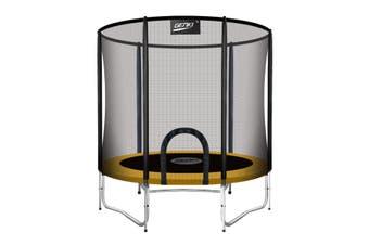 Genki 10ft Trampoline with Safety Enclosure Net