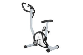 Genki Belt Bike Upright Exercise Bike Indoor Home Gym Equipment Spin Bike Grey