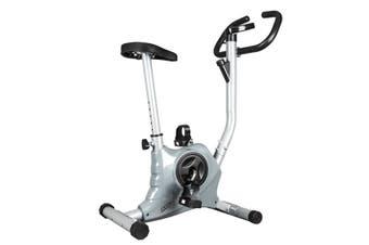 Genki Belt Bike Excercise Bike Cardio Equipment Upright Spin Bike Grey