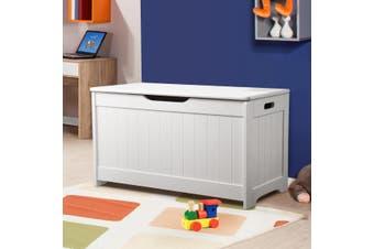 Kidbot Wooden Kids Storage Box for Toys Clothing 80x40x44cm