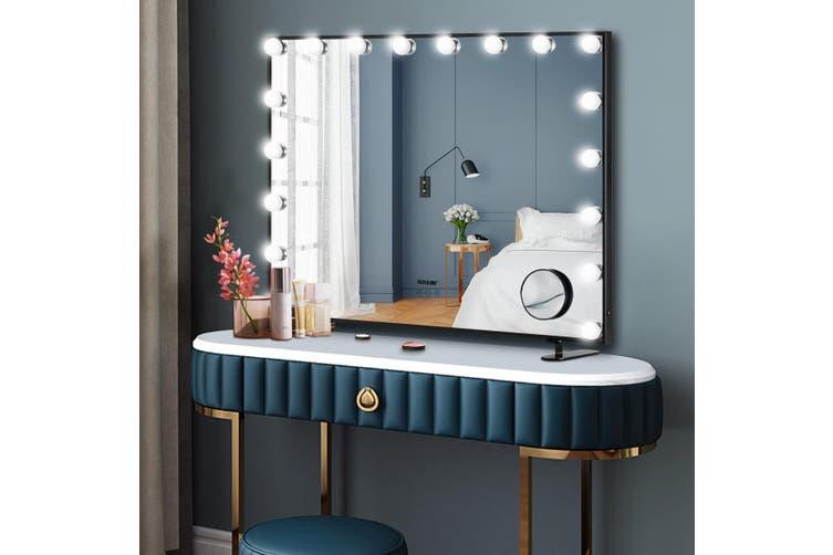 Maxkon Hollywood Frameless Makeup Mirror with 18 LEDs