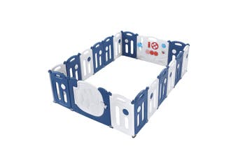 18 Panel Elephant Design Baby Toddler Safety Gate Playpen