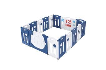 16 Panel Elephant Design Baby Toddler Safety Gate Playpen