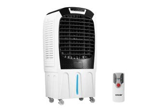 50L Evaporative Air Cooler Industrial Air Conditioner Humidifier Cooling Fan Remote Control
