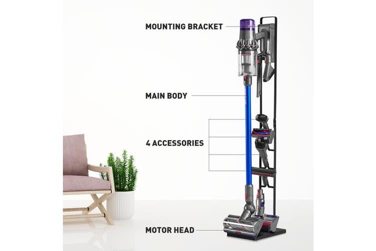 Vacuum Mounting Bracket Rack Hanger Standing Dock Cordless Cleaner for Dyson V7 V8 V10 Black