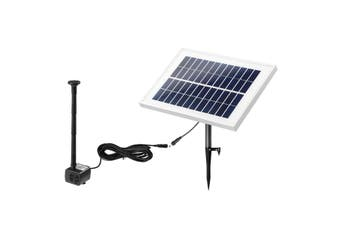 20W Solar Powered Fountain Water Pump for Outdoor Garden Pond Pool