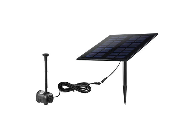 5W Solar Powered Fountain Water Pump for Outdoor Garden Pond Pool