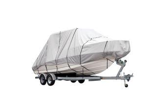 OGL 21 23 ft Trailerable Jumbo Boat Cover Waterproof Marine Grade Fabric