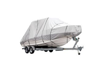 OGL 17 19 ft Trailerable Jumbo Boat Cover Waterproof Marine Grade Fabric