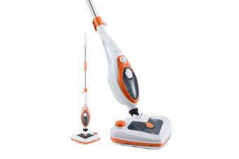 Maxkon 13 in 1 Steam Mop Cleaner 1500W Handheld Steamer Multiple Function Floor Carpet Orange