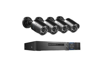 AHD CCTV Camera Home Security Surveillance System 4CH DVR 1080P Night Vision Motion Detection 4 Pack