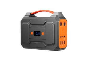 Portable 70200mAh 100W Solar Generator Power Station Battery Backup