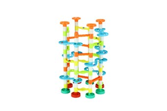 DIY Marble Run Race Maze Game Marble Coater Track Toy Set 70cm Tall