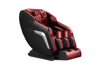 HOMASA Red Full Body Massage Chair Zero Gravity Recliner