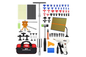 Professional 85 Pieces PDR Paintless Dent Repair Tool Kit Car Dent Removal Puller