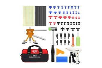 Professional 77 Pieces PDR Paintless Dent Repair Tool Kit Car Dent Removal Puller