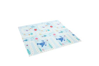 200cmx180cm 15mm Thick Reversible Baby Play Mat Kids Activity Gym Center