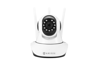 1080P WiFi Wireless PTZ IP Camera for Home Security Surveillance System w/ Motion Detection Remote Access 128GB 2 cameras