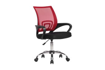 Ergonomic Mesh Office Chair Executive Computer Work Armchair Red