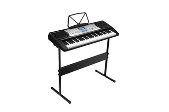 Melodic 61-Key Electronic Keyboard Piano with 24 Demo Songs LED Screen Music Stand