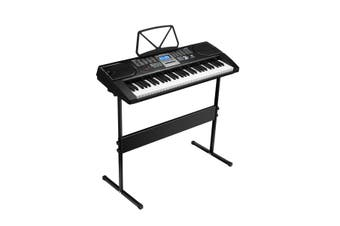 Melodic 61-Key Portable Electronic Keyboard Electric Piano with Microphone Power Adaptor