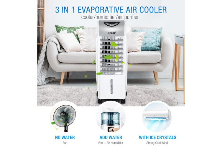 Maxkon Multi-functional 6L Evaporative Air Cooler Remote Cooling Fan Humidifier