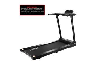 Genki 1.85HP Folding Treadmill Home Running Workout Equipment w/ Foldable Table 420mm Belt