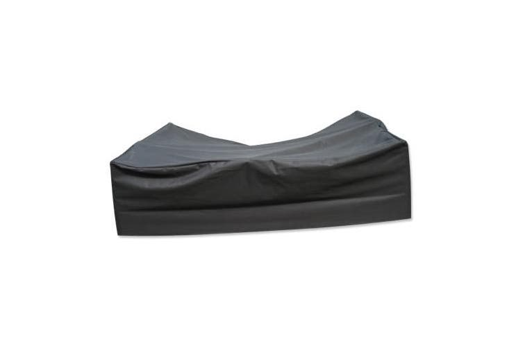 PVC Coated Polyester Waterproof Outdoor Furniture Cover 8 Seater   3.3m x 2.2m x 0.9m