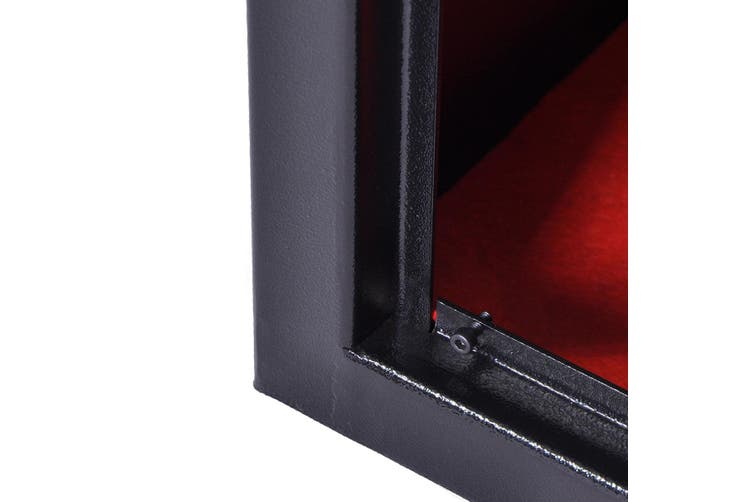 Electronic Lock Gun Storage Safe Cabinet 10 Rifles with Internal Security Box