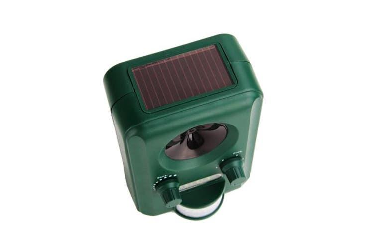 Solar Powered Motion Sensor Pest Animal Repeller Deterrent 8 9 Metres, 2 Pack