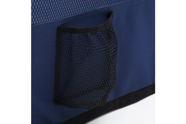Folding Indoor or Outdoor Soft Side Pet Playpen Kennel 8 Panels