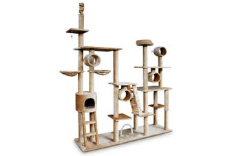 Deluxe Extra Large Multilevel Cat Tree Activity Tower