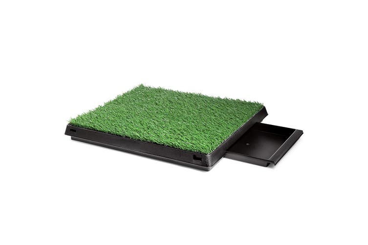 Pet Dog Toilet Potty Tray Training Grass Mat   Large Size