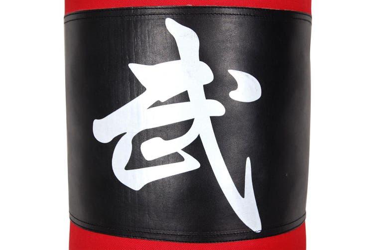 80cm Fitness Training Boxing Punching Bag Sad Bag   Red & Black