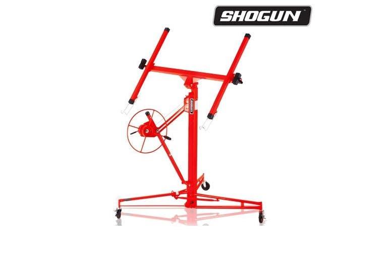 16' Shogun Drywall Lift Rolling Panel 65KG with Wheels