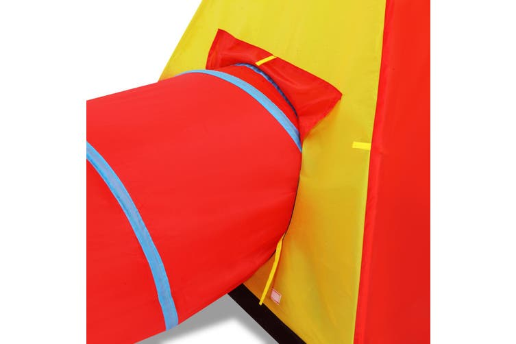 Kids Toddlers Pop Up Play Tent Tunnel Playhouse