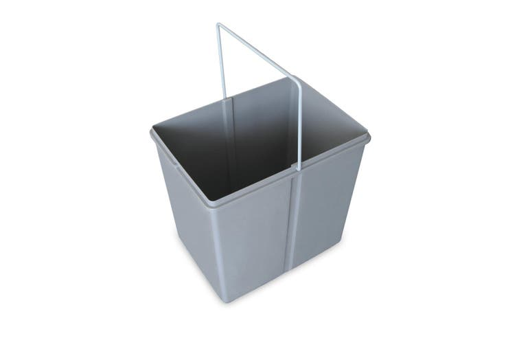 Rubbish Bin Kitchen Waste Trash 2x15L