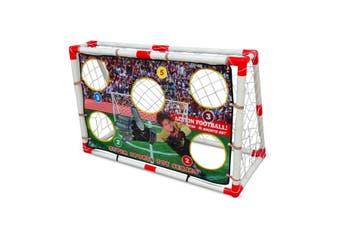 Kids Soccer Goal Set with Ball & Pump