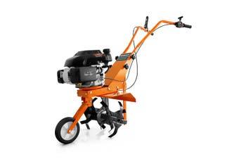 Shogun Electric Garden Rototiller Gasoline Cultivator Orange