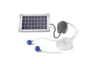 Solar Powered Fresh Air Pump for Pond Pool Fish