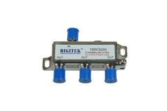 3 Way Splitter F Type 5 2400Mhz All Ports Power Pass