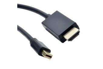Mini Displayport Male - Hdmi Cable Male 4K - 3m