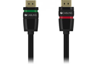Locking Hdmi Cable 2.0 High-speed w/ Ethernet Channel - 2m