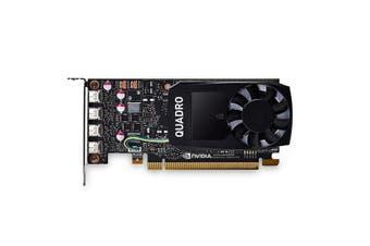 Leadtek Quadro P1000 Work Station Graphics Card Pcie 4Gb Ddr5 Single