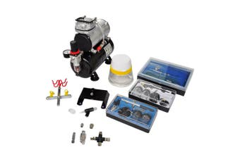 Airbrush compressor Set With 3 Pistols 310 x 150 x 310 Mm