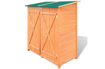 Large Wooden Tool Storage Room
