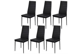 7-Piece Dining Table Set - Black
