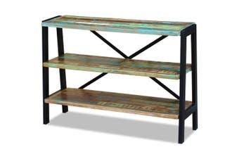 Solid Reclaimed Wood 3-Shelf Sideboard