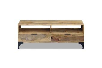 TV Stand Mango Wood 120 x 35 x 45 Cm
